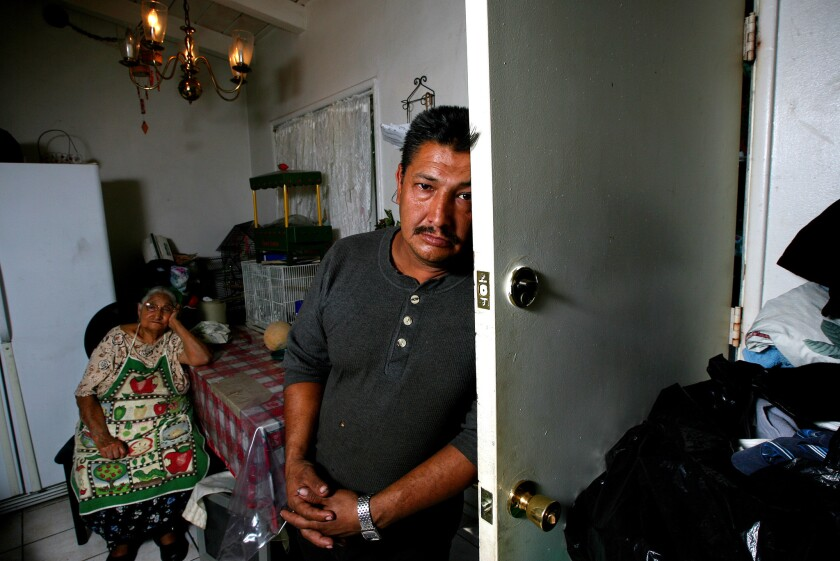 Miguel Angel Padilla Sr., 45, spent much of his time in Mexico and left his son Miguel to be raised mainly by the boy's elderly paternal great-grandmother, Maria Arriaga Hernandez. Eventually Miguel was sent to the LeRoy Haynes Center in La Verne. He escaped from there and killed himself.