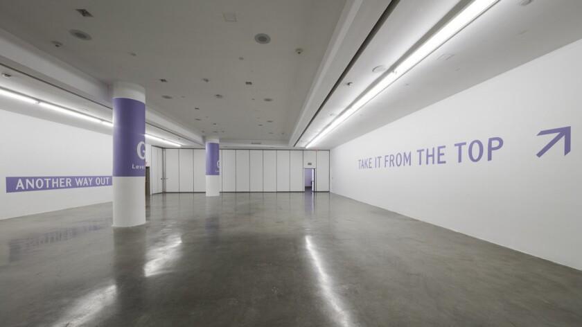 John Knight's installation at REDCAT