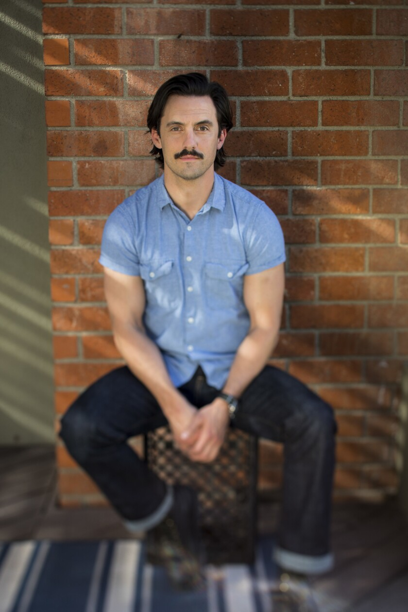 """LOS ANGELES,CA --THURSDAY, FEBRUARY 01, 2018--Actor Milo Ventimiglia, from the NBC hit, """"This Is Us,"""