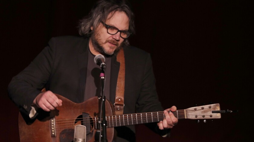 Singer-songwriter Jeff Tweedy performs at Largo at the Coronet in West Hollywood on Thursday, Jan. 3, 2019.