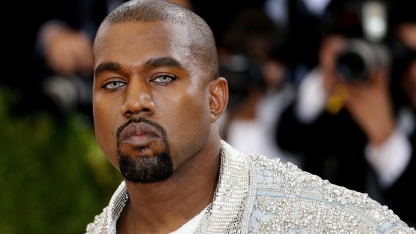 Kanye West at the 2016 Met Gala.