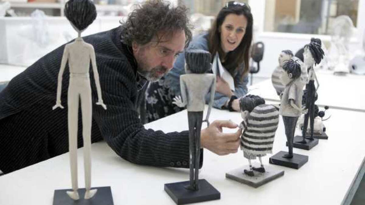 Tim Burton Reanimates His Past In Frankenweenie Los Angeles Times