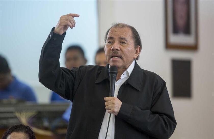 El presidente de Nicaragua, Daniel Ortega. EFE/Archivo