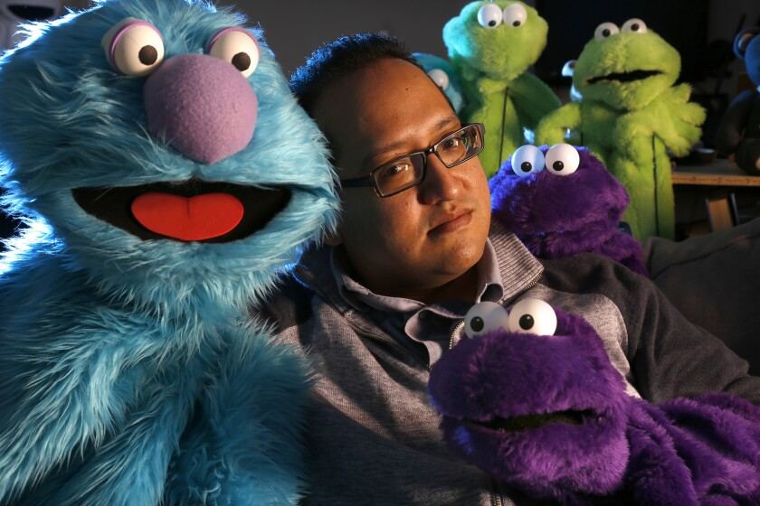 """Puppeteer Art Vega has worked at the """"Disney Junior - Live on Stage!"""" show at Disney California Adventure for 14 years. The long-running, puppet-centric version of the show is being shut down in April."""