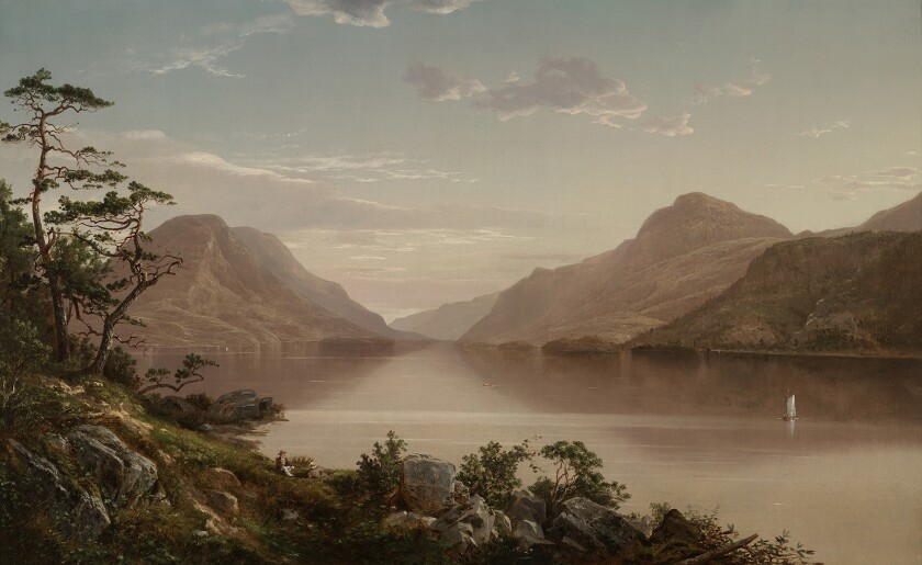 Up the Hudson to West Point, David Johnson