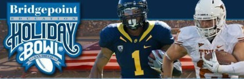Cal and Texas will play in the Holiday Bowl on Dec. 28