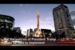 LA 90: Mexico is feeling jitters over the prospect of a Trump victory