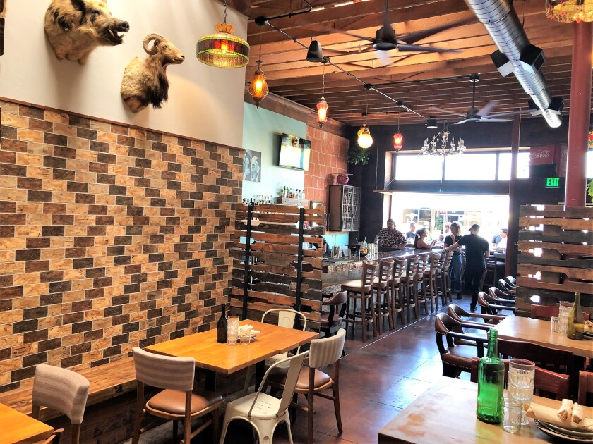 The interior of The Flying Pig Pub & Kitchen in Oceanside, which opened last week in a new location at 509 Mission Ave.