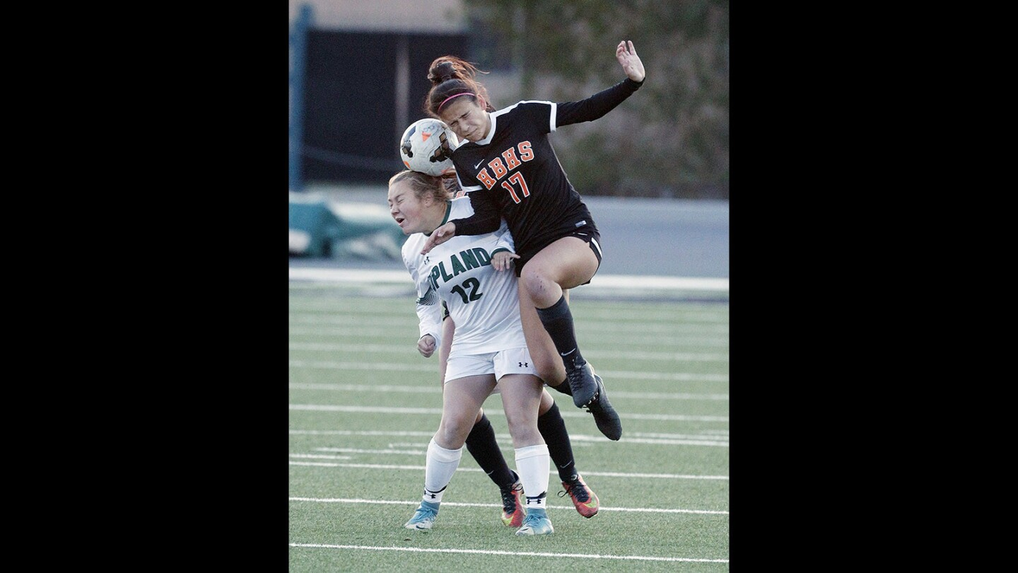 Photo Gallery: Huntington Beach vs. Upland in CIF Division 1 second round girls' soccer