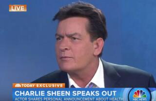 Charlie Sheen says he's HIV-positive; he paid millions to keep it under wraps
