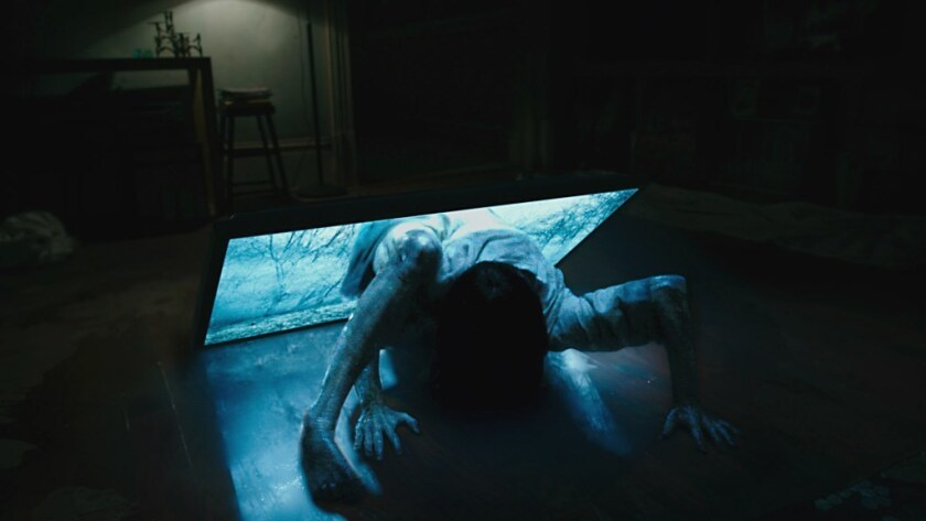 "Bonnie Morgan as Samara in ""Rings."""