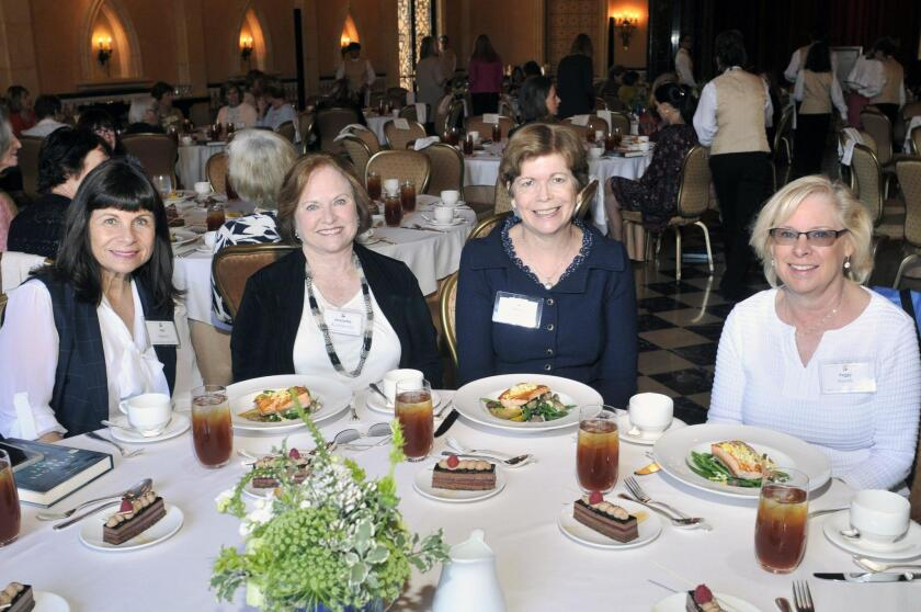 Teri Nelson, Jeanette Ruchlewicz, Sylvia Re, Peggy Korody