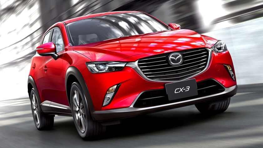 The all-new 2016 Mazda CX-3 is strong and nimble, particularly the all-wheel-drive version.