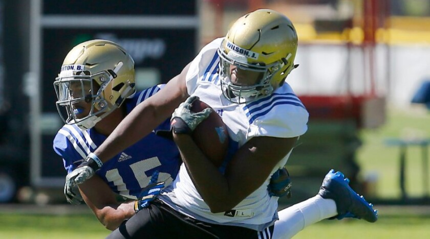 UCLA tight end Jordan Wilson is departing via the transfer portal as a graduate transfer.