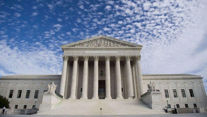 (FILESThis file photo taken November 6, 2013 shows the US Supreme Court in Washington, DC. The US Su