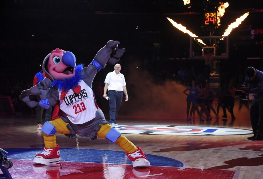 Clippers' new Chuck the Condor mascot is a for-the-birds idea that never should've been hatched