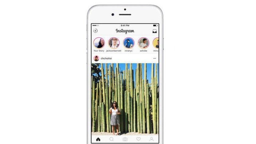 """Instagram describes its newest feature as helping users share not just """"highlights,"""" but also """"everything in between."""""""