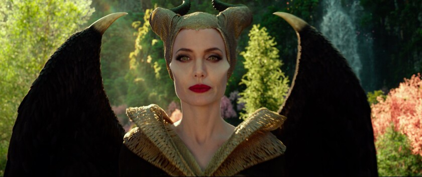 Angelina Jolie is Maleficent in Disney's 'Maleficent: Mistress of Evil'