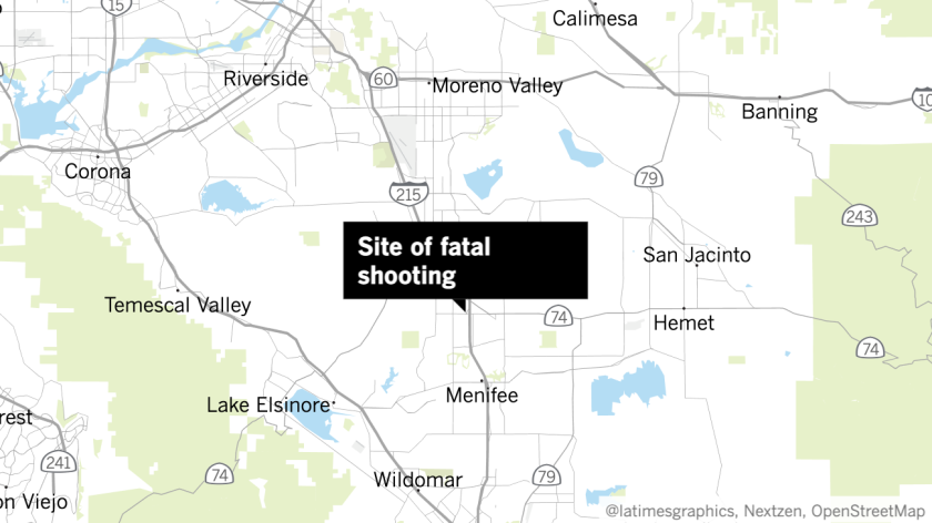 Site of fatal shooting