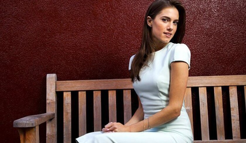 """Actress Allison Williams, from HBO's """"Girls,"""" potrays Marnie, the uptight one in the group of four main characters."""
