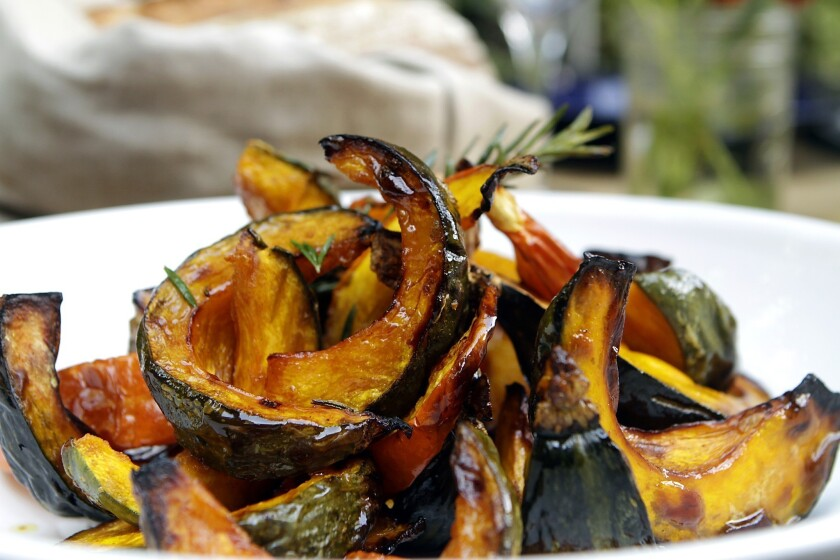 Simple roasted squash is the best thing to cook once the cooler temps of autumn arrive.