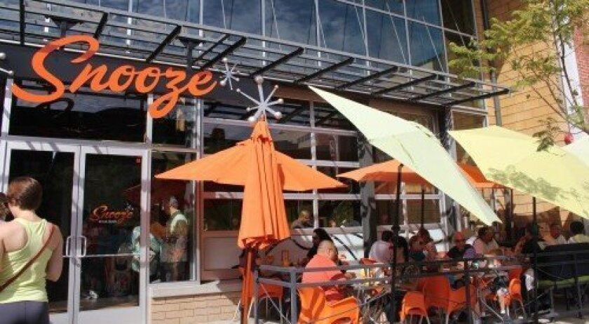 Snooze, an AM Eatery is coming to Del Mar Highlands. It will be the second San Diego location, as the first is in Hillcrest. Photo/Karen Billing