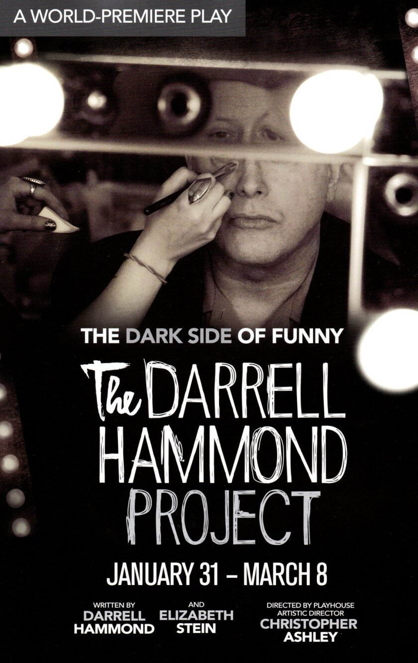 Darrell Hammond from 'Saturday Night Live,' appears in his one-man show 'The Darrell Hammond Project' at the La Jolla Playhouse/