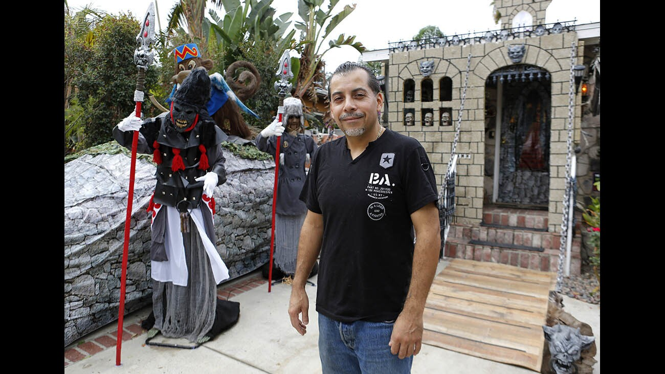 Photo Gallery: Burbank home wins Halloween decorating contest twice in a row