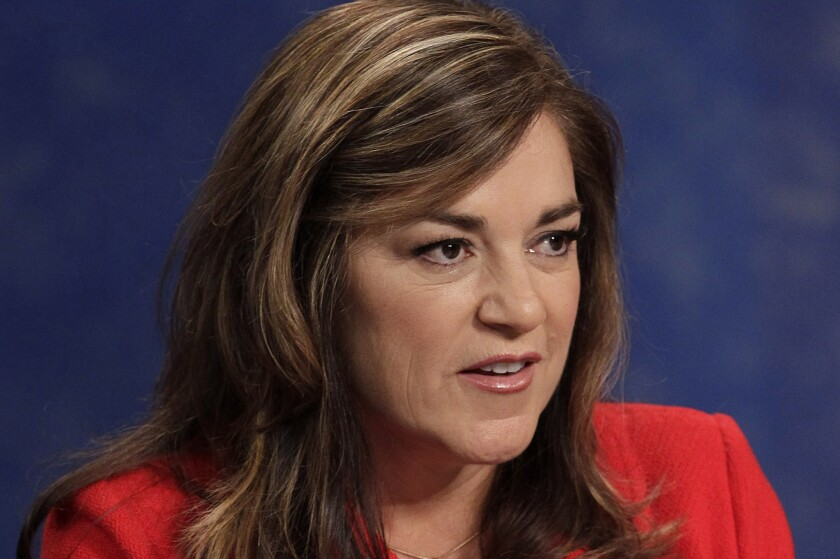 Rep. Loretta Sanchez (D-Garden Grove), shown in 2010, is considering a run for Barbara Boxer's U.S. Senate seat.