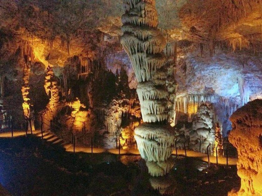 Israel's prehistoric Soreq Cave now a clean, eerily lighted place