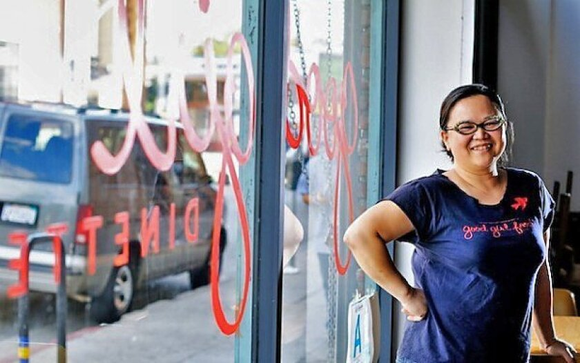 Diep Tran is the owner and executive chef of Good Girl Dinette in Highland Park.
