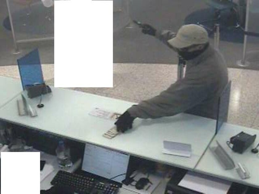"""The bank robber dubbed the """"Drywaller Bandit"""""""