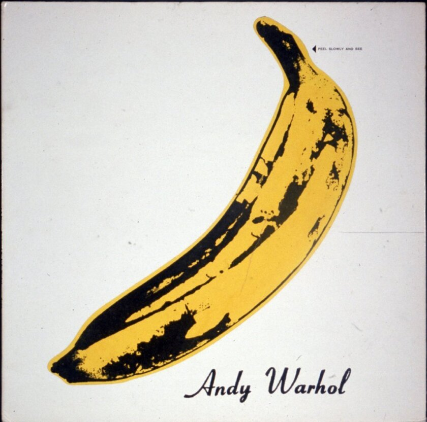 "Andy Warhol designed the album cover for ""The Velvet Underground & Nico."""
