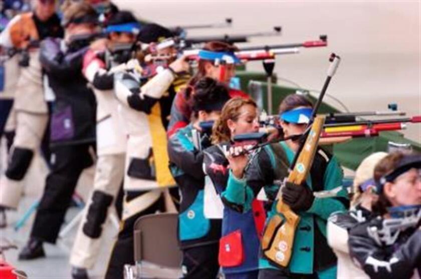 Vista de la prueba de tiro durante los Juegos Olímpicos de Verano de México 68. EFE/Archivo