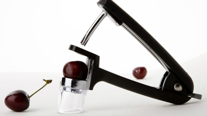 OXO's Good Grips Cherry Pitter. (Bill Hogan/Chicago Tribune/MCT) ORG XMIT: 1046053