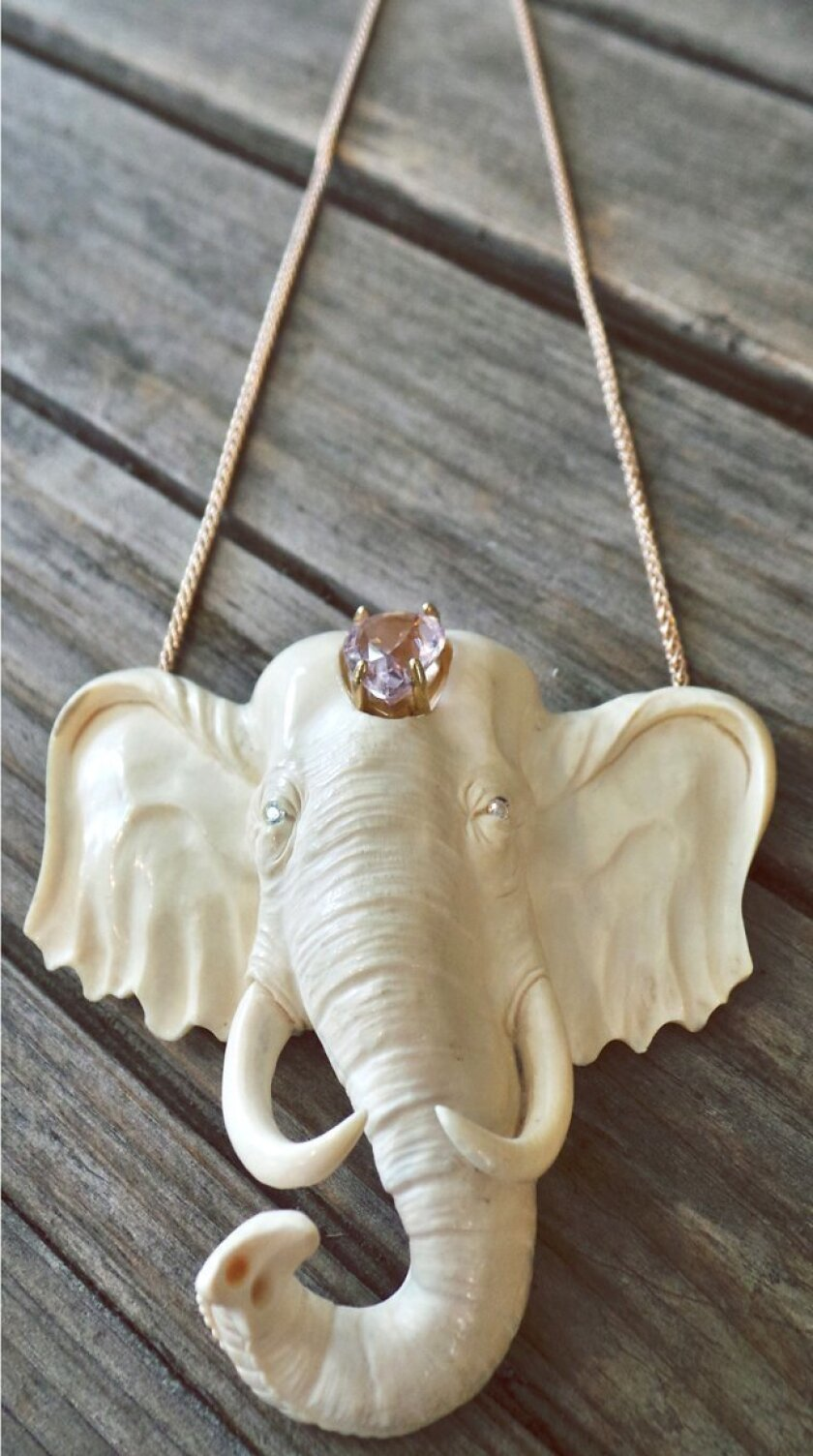 Jewelry sample by Leslie Fastlicht Russo of LFR Designs