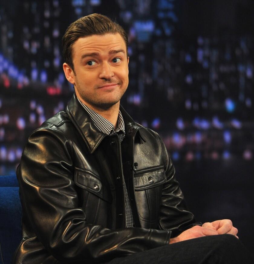 """Justin Timberlake visits """"Late Night With Jimmy Fallon."""""""