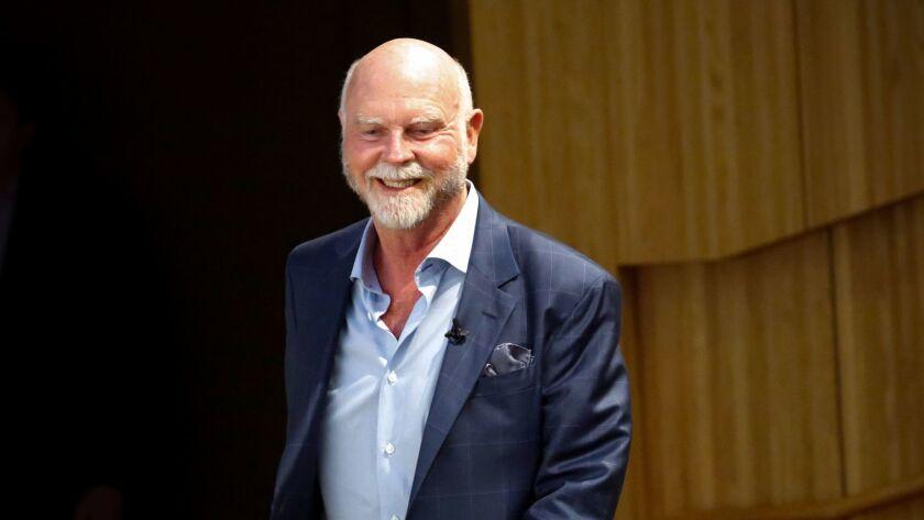 Human genome research pioneer J. Craig Venter.