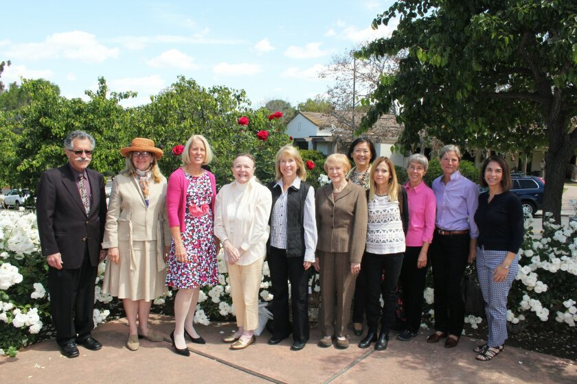 The Rancho Santa Fe Library Guild board. Photo by Karen Billing