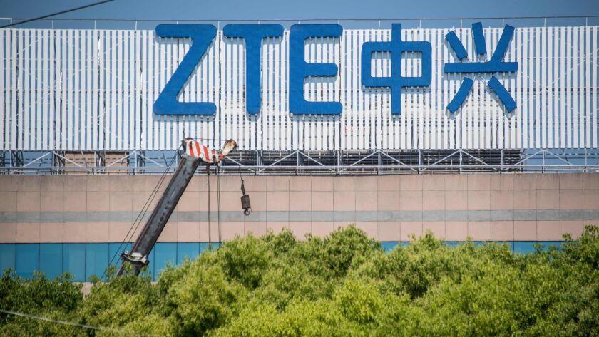 FILES-CHINA-US-TELECOMMUNICATION-ZTE