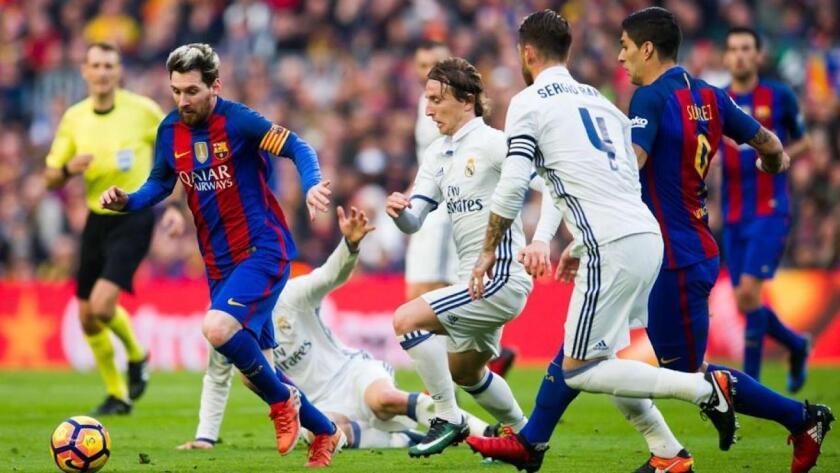 Barcelna vs Real Madrid... cita definida.