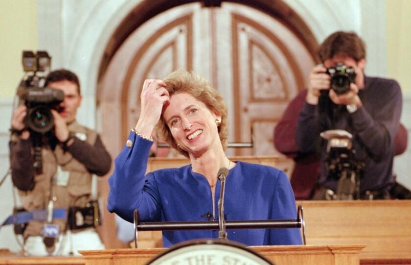 Christine Whitman recalls her 1995 GOP State of the Union response