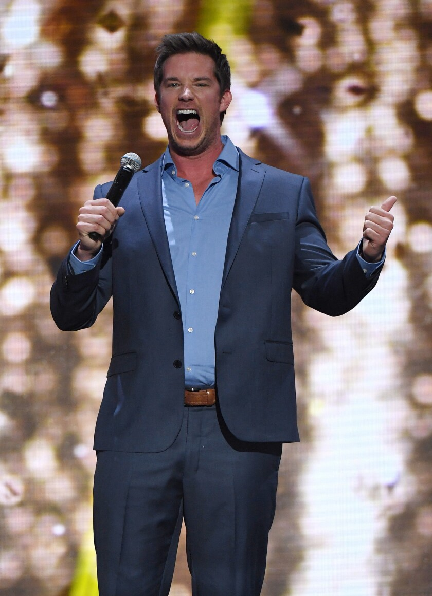 Comedian Colin Kane.