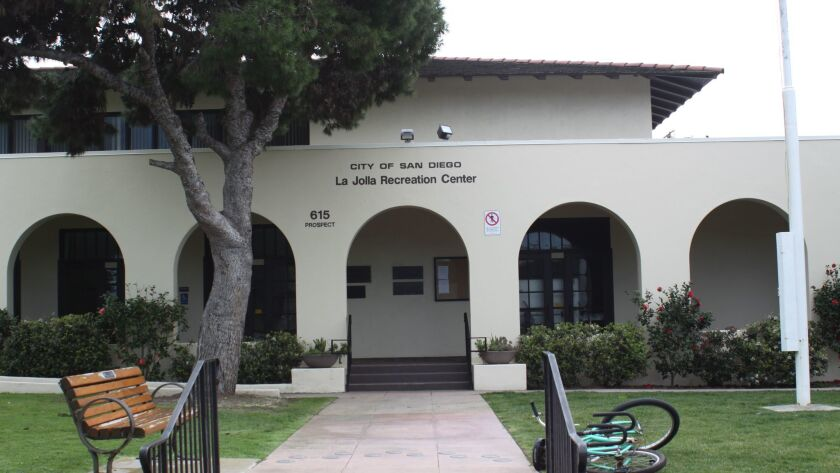 The La Jolla Rec Center was completed in 1915; Ellen Browning Scripps donated it to the City of San Diego the same year. On Sept. 7, 1973, it was designated as San Diego Historic Landmark #86. The 102-year-old Center sits at 615 Prospect St.