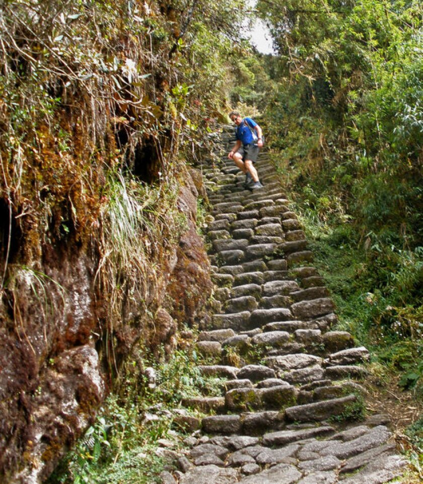 Inca Trail Marathon Is A Runner S High In Peru Los Angeles Times