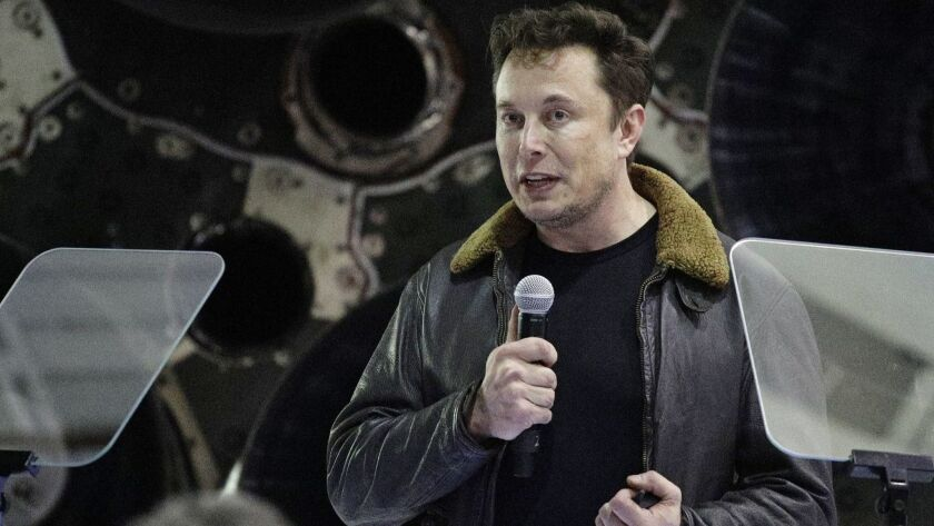 Elon Musk takes out five monster mortgages - Los Angeles Times