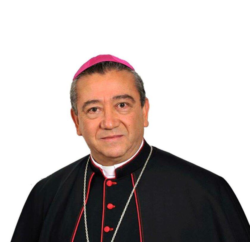 Msgr. Francisco Moreno Barron, named archbishop for the Tijuana diocese. Alberto Venegas photo