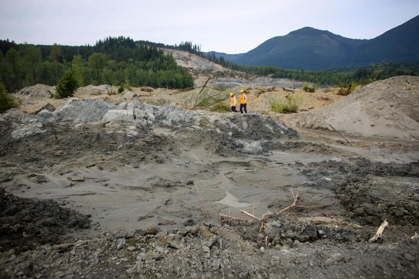 Oso landslide aftermath