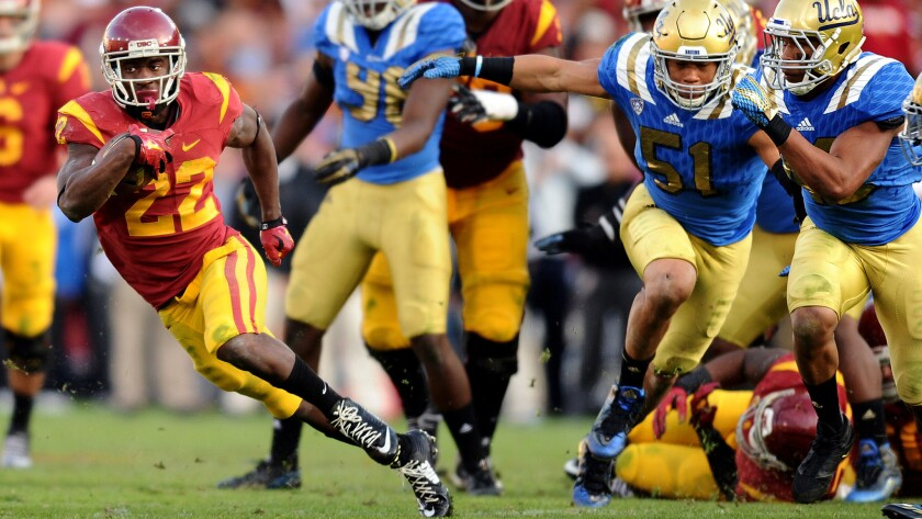 Clay Helton's game-sealing call for USC: Let Justin Davis finish off UCLA