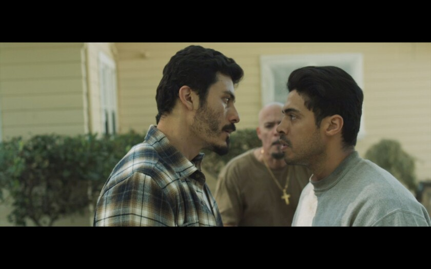 "Rigo Sanchez and Josue Aguirre in a scene from ""Beneath Us."""
